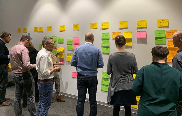 Fotos vom Workshop im Robert-Bosch-Krankenhaus Stuttgart Anfang 2020